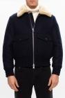 Ami Alexandre Mattiussi Faux-shearling collar jacket