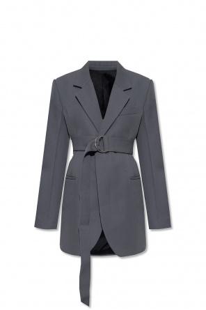 Belted blazer od Ami Alexandre Mattiussi