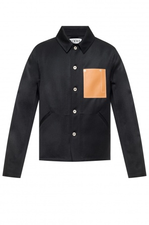 Wool jacket with collar od Loewe