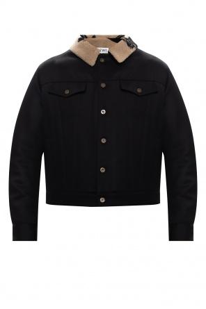 品牌羊毛夹克 od Loewe