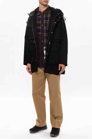 Jacket with detachable hood od Loewe