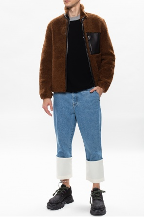 Leather jacket od Loewe