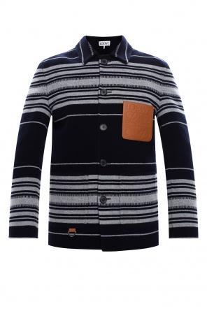 品牌羊毛外套 od Loewe