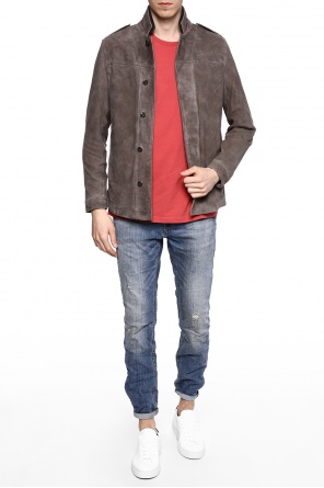 'harbour' double-collar jacket od AllSaints