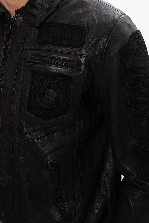 AllSaints 'Harley' leather jacket