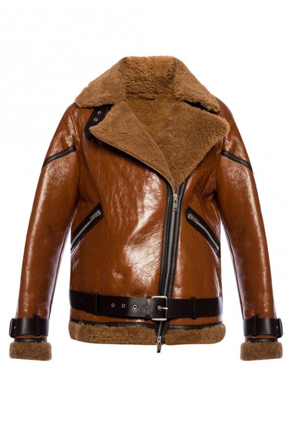 'Hawley' Jacket With Fur Trim by All Saints