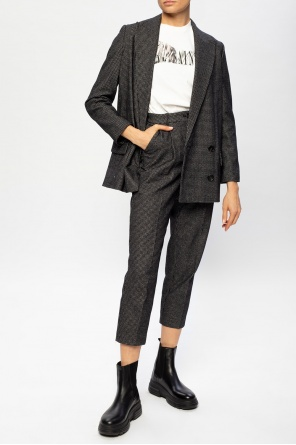 'helei' double-breasted blazer od AllSaints