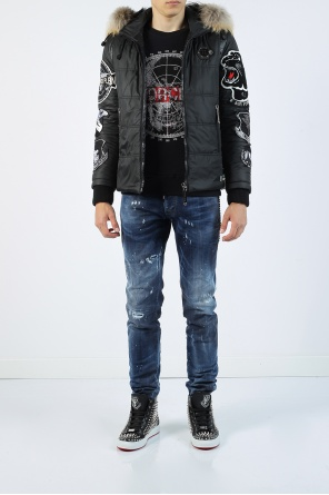 Quilted jacket with patches od Philipp Plein