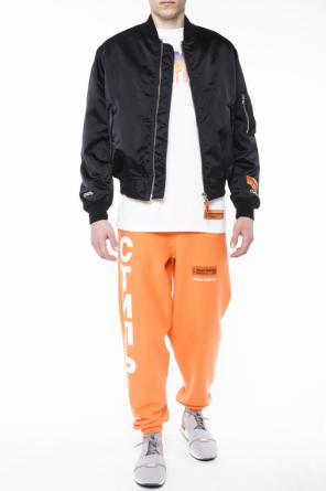 Printed bomber jacket od Heron Preston