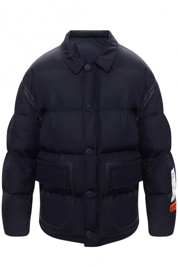 Heron Preston Down jacket with logo