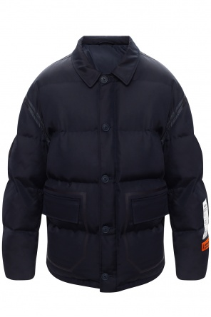 Down jacket with logo od Heron Preston