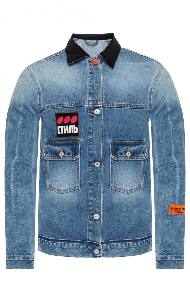 0acc9c9a048 Raw-trimmed denim jacket Heron Preston - Vitkac shop online