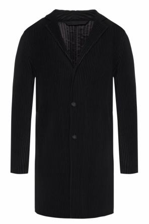 Textured coat od Homme Plisse Issey Miyake