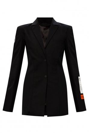 Patched blazer od Heron Preston