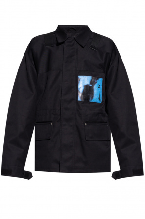 'i want you' jacket with logo od MISBHV