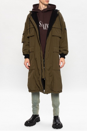 Hooded coat od Iceberg