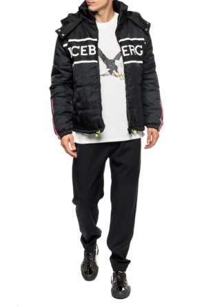 Quilted jacket with logo od Iceberg
