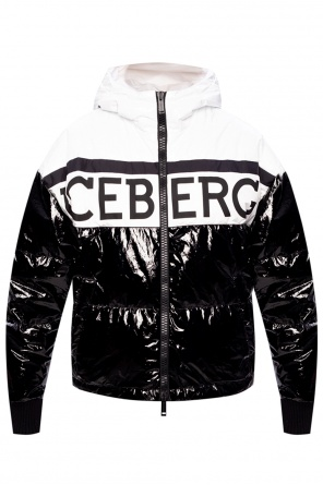 Quilted down coat od Iceberg