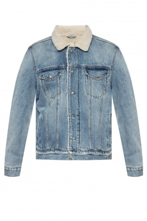 'ilkley' denim jacket od AllSaints