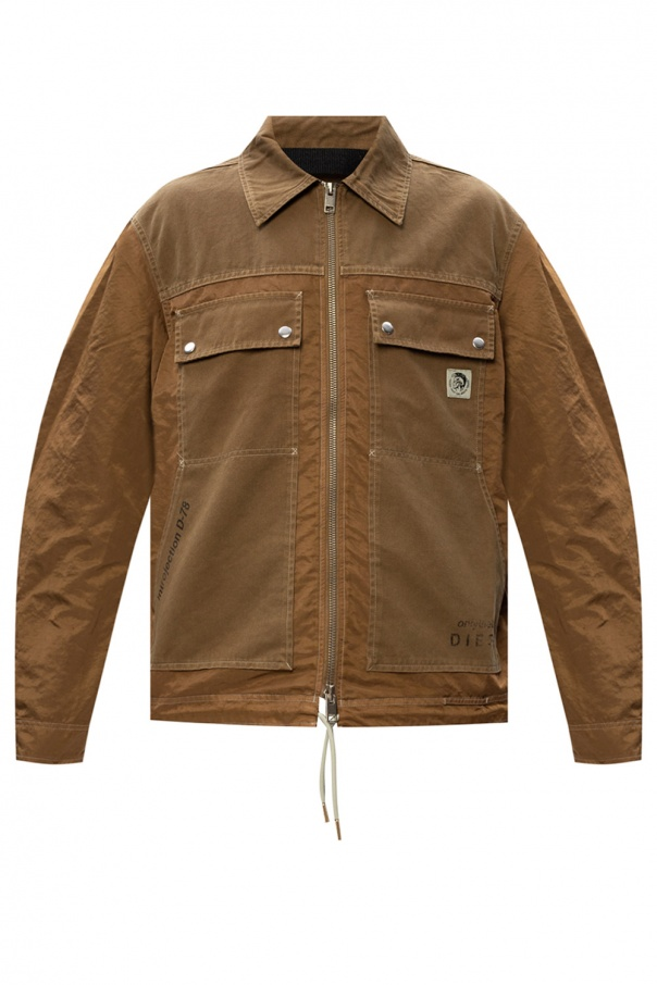 Diesel Logo-patched jacket