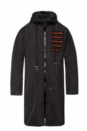 Rain coat with vents od Diesel