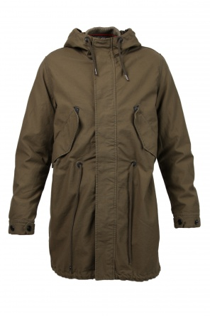 Parka with detachable lining od Diesel