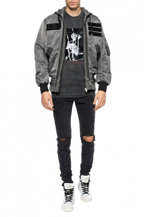 Sweatshirt-effect jacket od Diesel