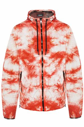 Patterned hooded jacket od Diesel