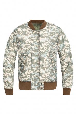 Reversible bomber jacket od Diesel