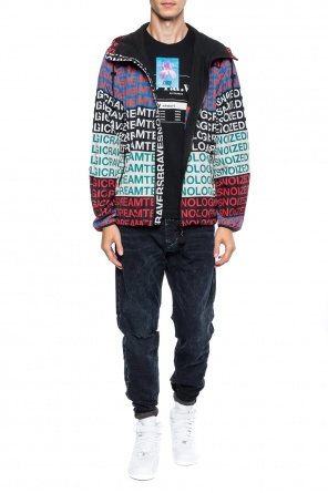 Jacket with a print od Diesel
