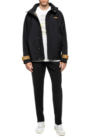 Jacket with detachable hood od Helmut Lang