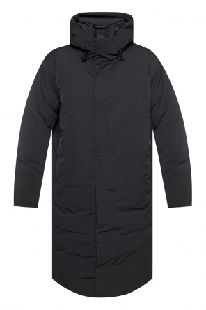 Hooded down coat od Theory