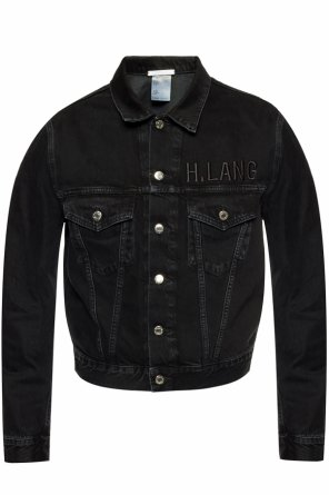 Branded denim jacket od Helmut Lang