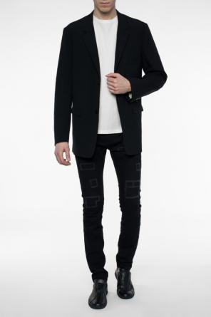Crumple effect blazer od Lemaire