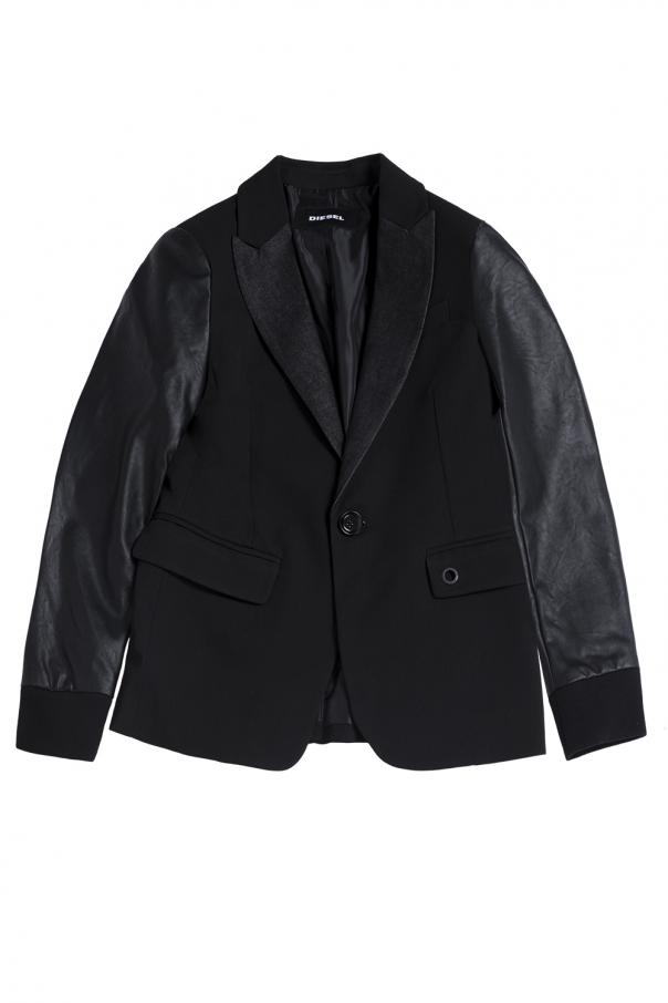 Diesel Kids Single-vented blazer