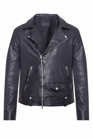 'jace biker' leather jacket od AllSaints