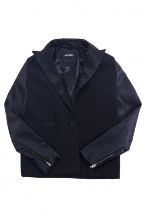 Single-vented blazer od Diesel