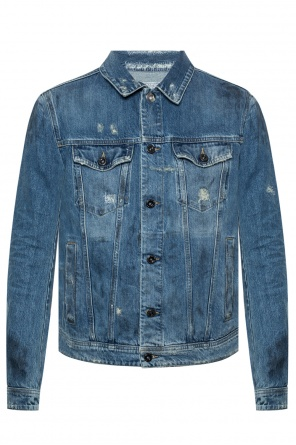 Stonewashed denim jacket od Diesel Black Gold