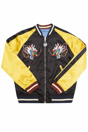 Embroidered jacket od Diesel