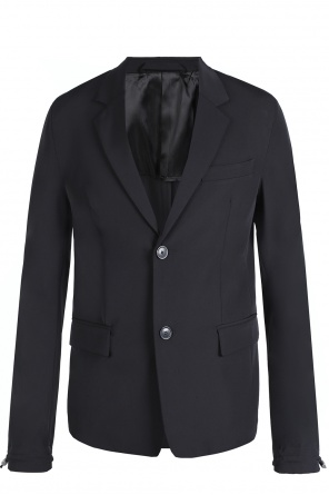 Blazer with notch lapels od Diesel Black Gold