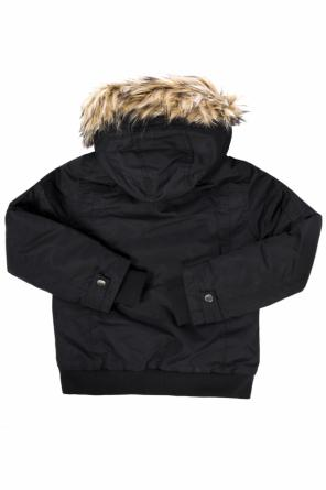 Jacket with detachable hood od Diesel