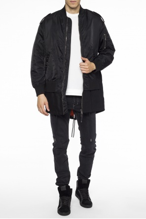 Long bomber jacket od Diesel Black Gold