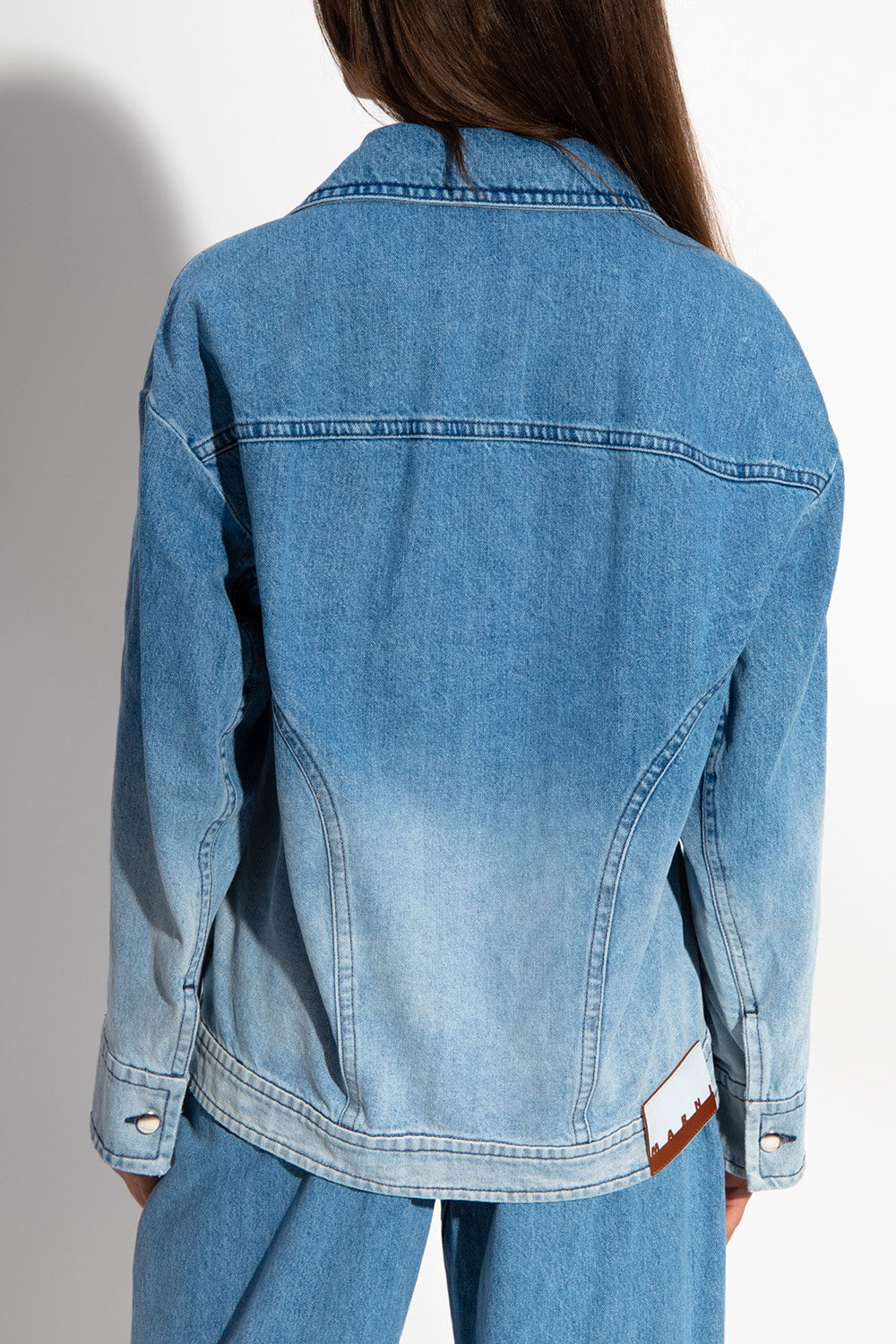 Marni Denim jacket with ombre