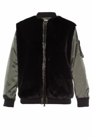 Bomber jacket with fur trimming od Victoria Victoria Beckham