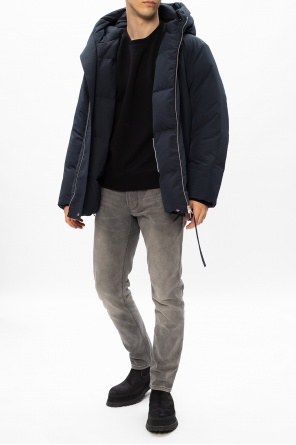 Hooded down jacket od JIL SANDER