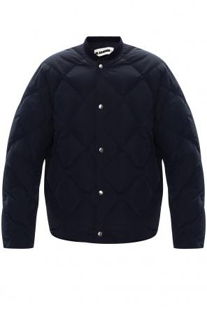 Quilted down jacket od JIL SANDER