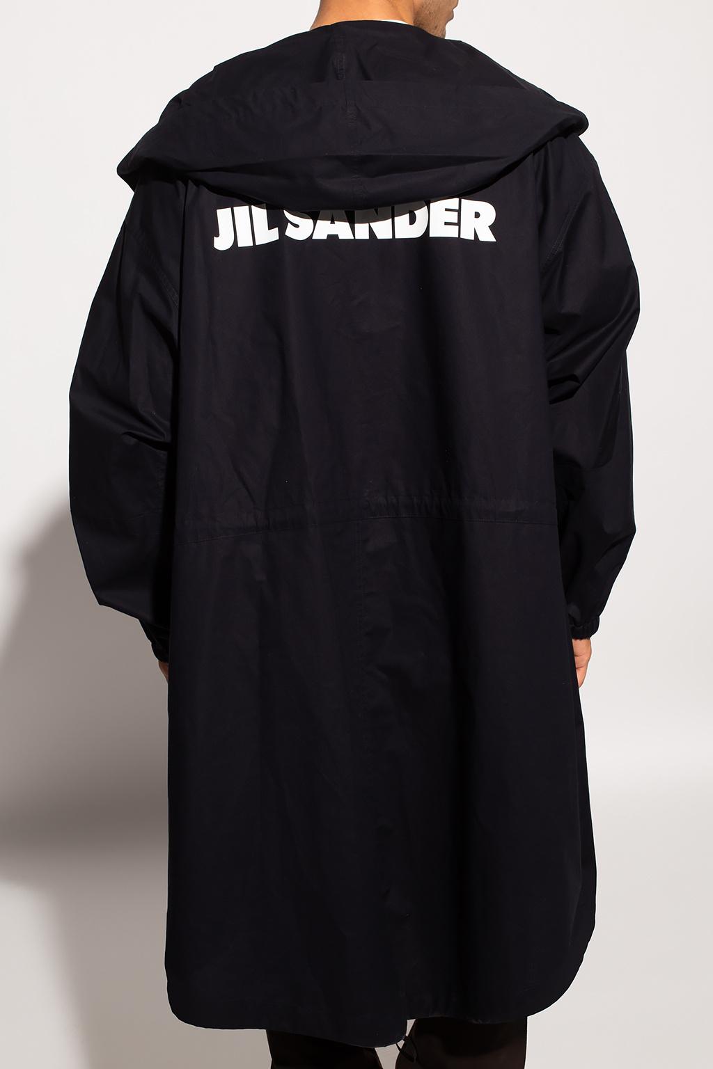 JIL SANDER Cotton coat