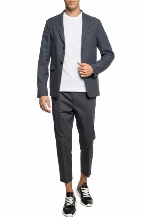 Blazer with notch lapels od JIL SANDER