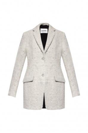 Coat with notch lapels od JIL SANDER