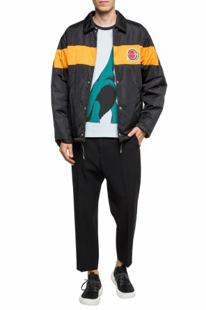Jacket with tactile logo od Marni
